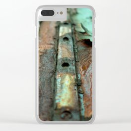 Colours of Transience Clear iPhone Case