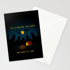 Let's Explore the World Stationery Cards