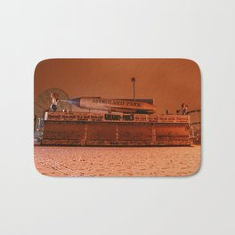 Coney Island - Gregory & Pauls in the winter Bath Mat