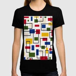 Retro Bauhaus Vector Background T-shirt