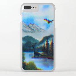 Warped Clear iPhone Case