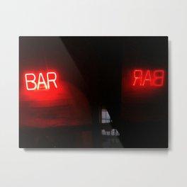 Bar Bar Metal Print