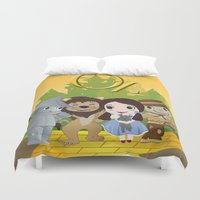 oz Duvet Covers featuring Oz by 7pk2 online