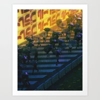 YELLOW (everyday 05.28.17) Art Print