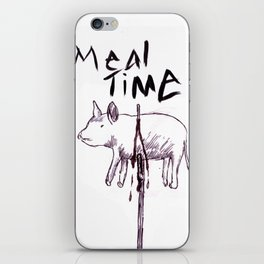 Meal Time iPhone Skin