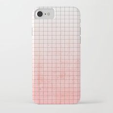 Sweet Pink Geometry iPhone 7 Slim Case