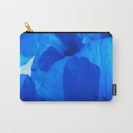 Blue Poppies #decor #society6 #buyart Carry-All Pouch