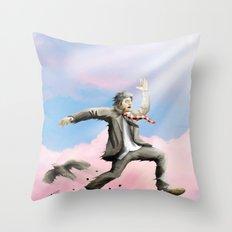 Jump! Throw Pillow