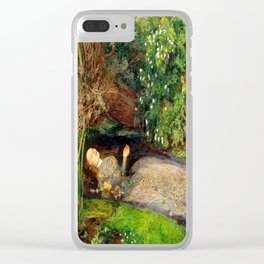 Ophelia Clear iPhone Case