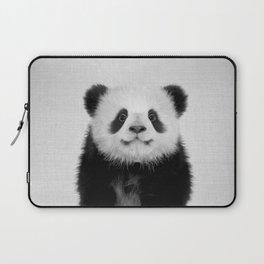 Panda Bear - Black & White Laptop Sleeve