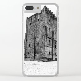 Portchester Castle. Clear iPhone Case