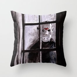 Jason Lives Throw Pillow