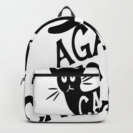Cats against Catcalls 2 Backpack