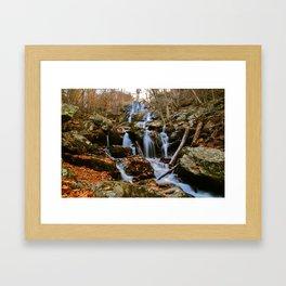Shenandoah Waterfall III Framed Art Print