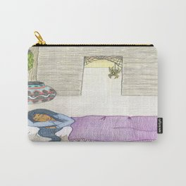 Sleeping Girl Carry-All Pouch