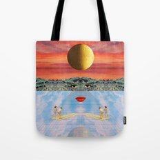 Eyes, lips & dreams Tote Bag