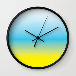 yc fade Wall Clock