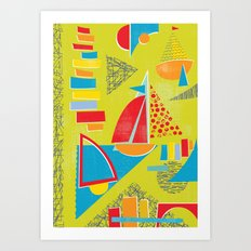 Boat Life Art Print