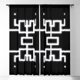 Emergence Symbol Blackout Curtain