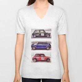 Cars: Green Mini Unisex V-Neck