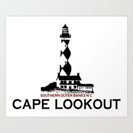 Cape Lookout - North Carolina. Art Print