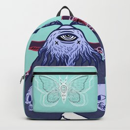 Ghostly Moth Backpack