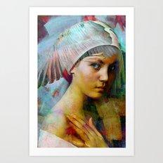 Memory of your look  Art Print