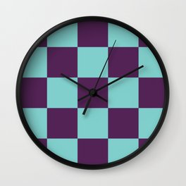 Checker Patchwork Lares Wall Clock