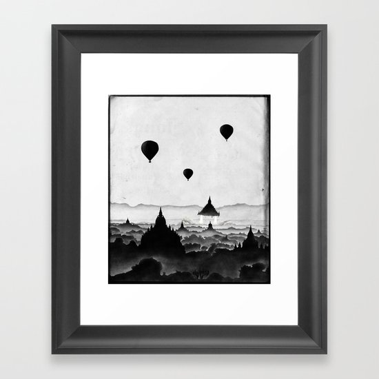 Aurora (On Paper) Framed Art Print