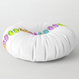 Flip Flop Conga Floor Pillow