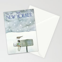 """Cover of """" The new Yorker"""" magazine. Mar. 10 1980. Stationery Cards"""