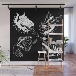Beasts in Black Wall Mural