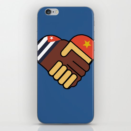 Hands Of Friendship iPhone & iPod Skin