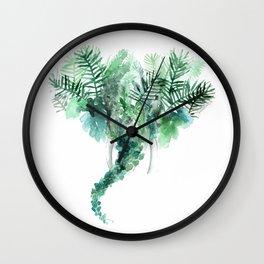 Madre natura - Elephant Wall Clock