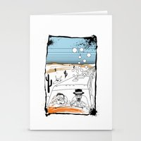 fear and loathing Stationery Cards featuring Fear and Loathing in Albuquerque II by Evan