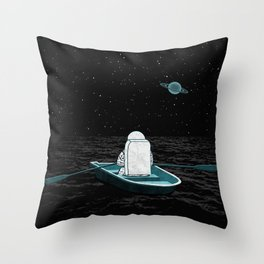 A Space Odyssey Throw Pillow