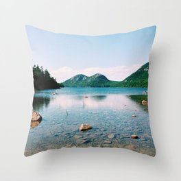Jordan Pond - Acadia National Park Throw Pillow
