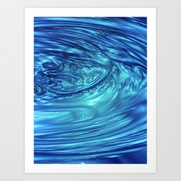 Inner Sea Ocean Devotion Art Print