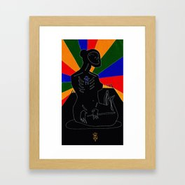 Virgo Nocturne Framed Art Print