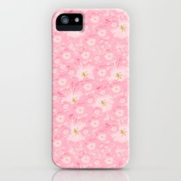 Softly Dreaming Of Flowers iPhone Case