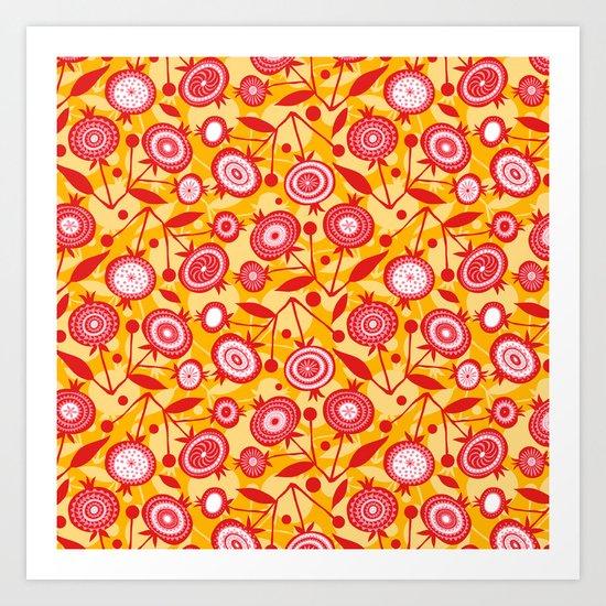 Pom Pom D'or Art Print