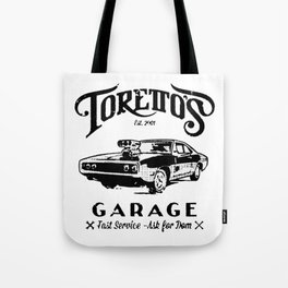 Toretto Garge Dom Tote Bag