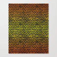 mosaic stripes Canvas Print