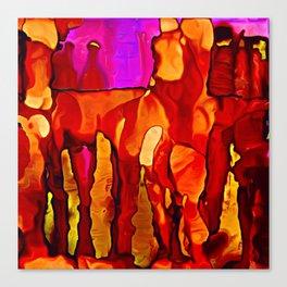Cavern Colors Canvas Print