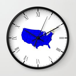 State of Rhode Island Wall Clock