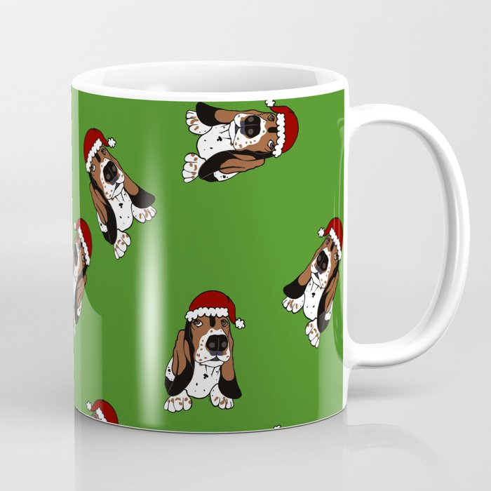 a basset full of christmas coffee mug - Christmas Coffee Cups