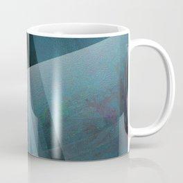 Blends of Blue - Digital Geometric Texture Coffee Mug