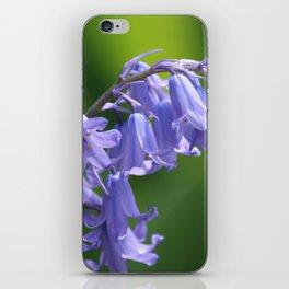 English Bluebells iPhone Skin