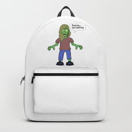 Zombie - Brains.. and makeup Backpack