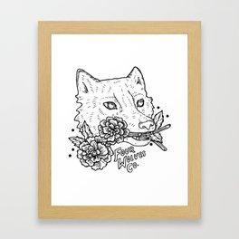 Four Wolves Co. Framed Art Print